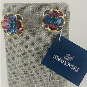 💃 💃 💃 Swarovski Crystal Pierced Earrings